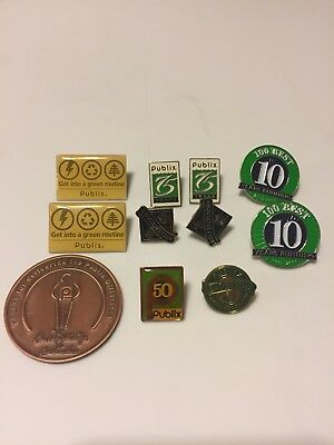 Publix Collectable Pins.  *Rare 50th Anniversary Pin*