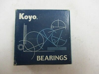 Koyo 6200Z Open box 6200Z Radial Ball Bearing DBL Shielded Bore Dia 10mm OD