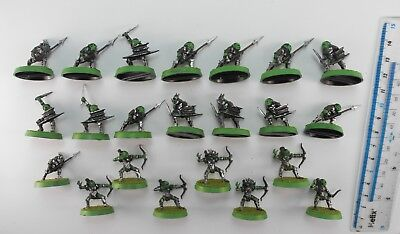 22 MORIA GOBLINS Plastic Lord of the Rings LOTR Evil Army Painted Warhammer 7