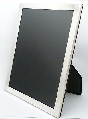 Elegant Vintage Solid Silver Photo Frame Hm 2009 - Ready For Use - Great Gift!