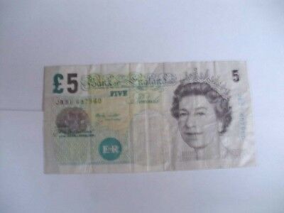 5 Pound Bank of England Banknote