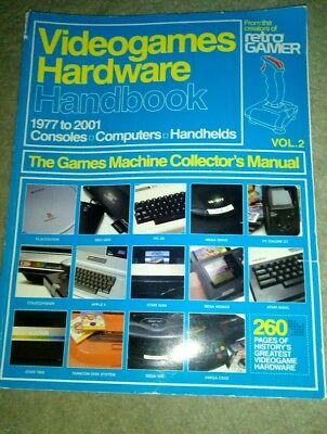 Retro Gamer Videogames Hardware Handbook  1977 - 2001 Collector's Manual