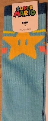 Super Mario Bros. Socks Loot Crate Loot Wear EXCLUSIVE