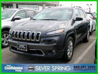 2017 Jeep Cherokee Limited 2017 Limited Used 2.4L I4 16V Automatic SUV Premium