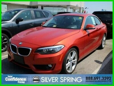 2015 BMW 2-Series 228i Xdrive 2015 228i Xdrive Used Turbo 2L I4 16V Automatic AWD Coupe Moonroof Premium