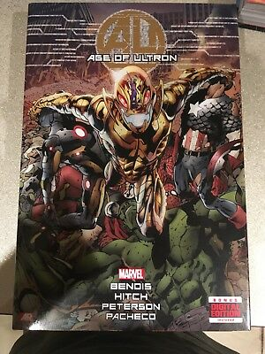 Age of Ultron by Brian Michael Bendis. Hardback