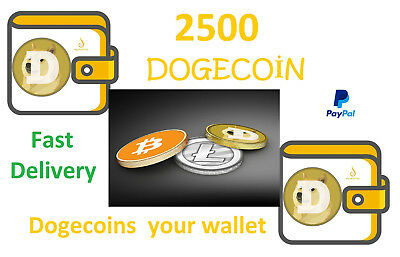 2500 Dogecoins *Fast Delivery your Dogecoin Wallet* eBay's cheapest product