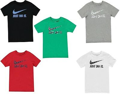 Kids Boys Girls Official Licensed Nike Just Do It Swoosh T-Shirt - FREE POST