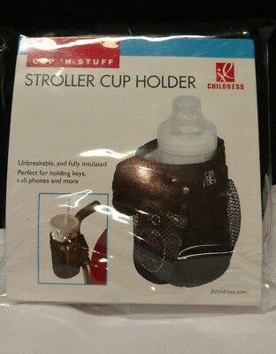 JL Childress Cup `N Stuff Stroller Pocket, Black , New, Free Shipping