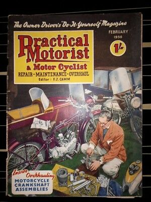 practical motorist magazine Feb 1956