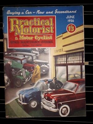 practical motorist magazine June 1956