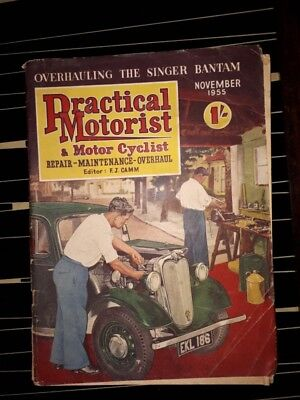 practical motorist magazine Nov 1955