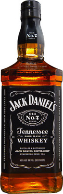 Jack Daniels Tennessee Whiskey 1 Litre ea - Spirits - Origin United States