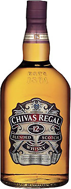 Chivas Regal 12YO Scotch Whisky 1 Litre ea - Spirits - Origin Scotland
