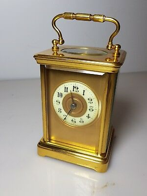 Antique French Striking carriage clock.
