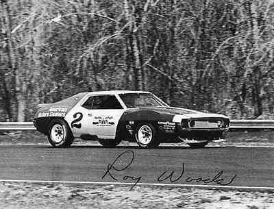 AMC Trans Am Javelin AMX Roy Woods Elkhart Lake press photo signed 231