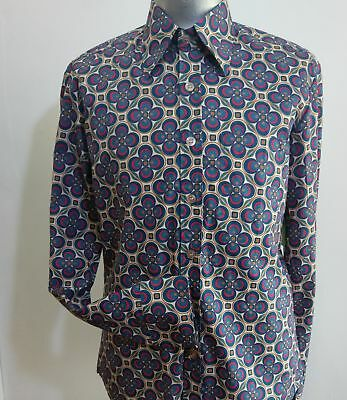 Men's 'Chenaski' Retro shirt 'Dotgrid'