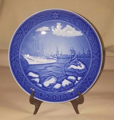ROYAL COPENHAGEN 2013 Christmas Plate - New in Box! – Copenhagen Harbour MIB