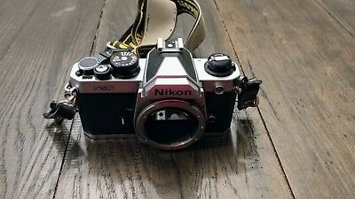NIKON FM2 35mm Camera Body with Honeycomb Titanium Shutter
