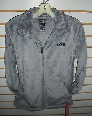 The North Face Womens Osito 2 Fleece Jacket- S, M, L, Xl  -Mid Grey - New