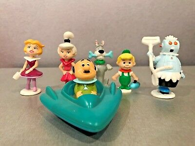 The Jetsons Set Of 6 Loose Figures - Look Terrific 1989 & 1990