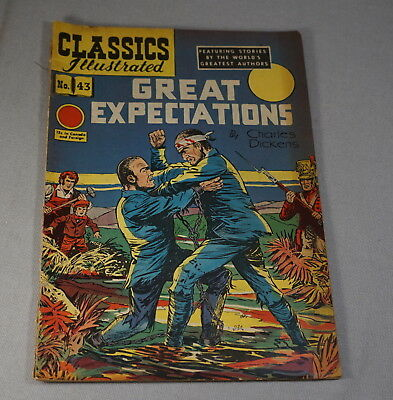 Original Vintage Classic Comics No. 43 Great Expectations Comic Book