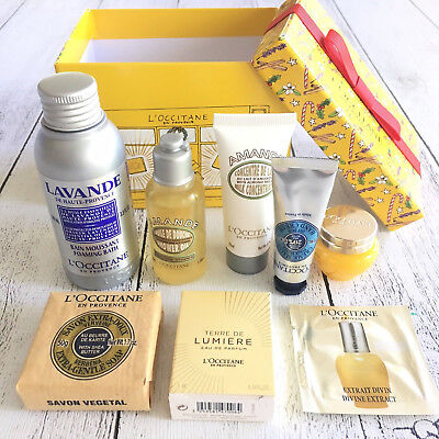 L'Occitane French Skin Care Body & Bath Products, Christmas Gift Box, New Unopen