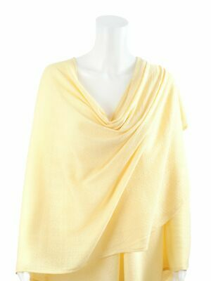 BEBITZA Textured Knit Nursing Cover - Yellow