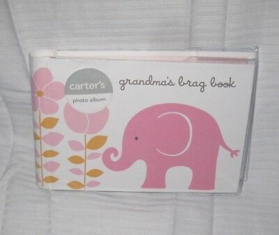 Carters Grandmas Brag Book baby girl Album Discontinued by Manufacturer new
