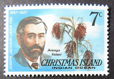1978 Christmas Island Stamps - Famous Visitors Definitives - Single 7c MNH