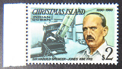 1978 Christmas Island Stamps - Famous Visitors Definitives - Single $2-Tab MNH