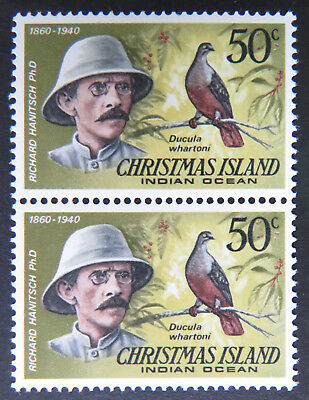 1978 Christmas Island Stamps - Famous Visitors Definitives - Double 50c MNH
