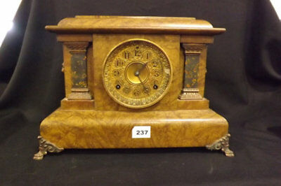 Antique Seth Thomas  Adamantine Mantle Clock No. 102, 5981c - 1895
