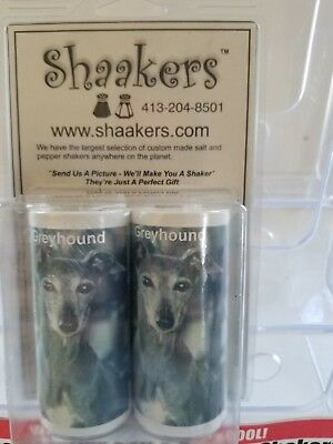 Dogs - Greyhound - Salt & Pepper Shakers