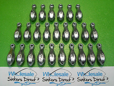 25 x size 4oz(112gms) hand cast australian made bank/reef fishing sinkers
