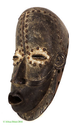Bete Mask with Studs Ivory Coast African Art
