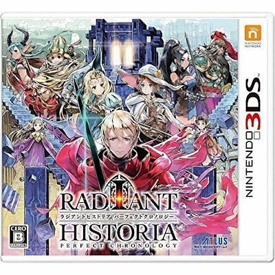 3DS USED RADIANT HISTORIA PERFECT CHRONOLOGY Japan Import Game Soft F/S