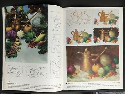 ART BOOK WALTER FOSTER HOW TO DO A STILL LIFE PAINTING BOOK FROM 1960's