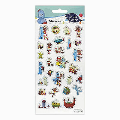 In The Night Garden Stickers Small 9001