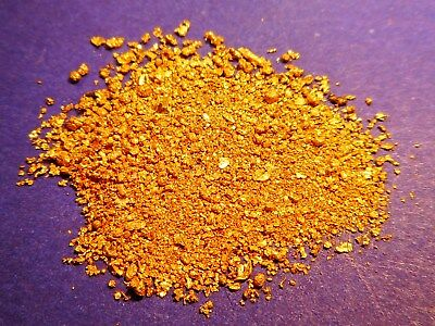 Sparkling Clean Australian Gold Dust ( 1.38 grams ).