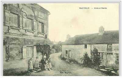 21.Mauvilly.ecole Et Mairie