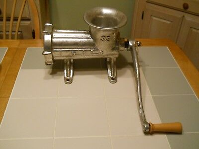 Alfa Meat Grinder 32 Stand Alone #32 Vintage Working Condition