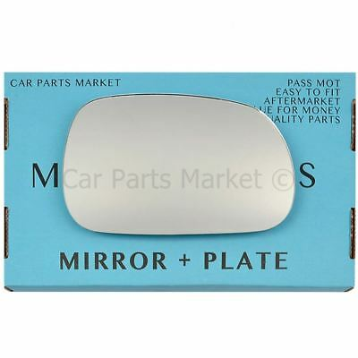 Right Driver Side Heated Mirror Glass for BMW Z3 E36//7 Roadster 1995-2002 270RSH
