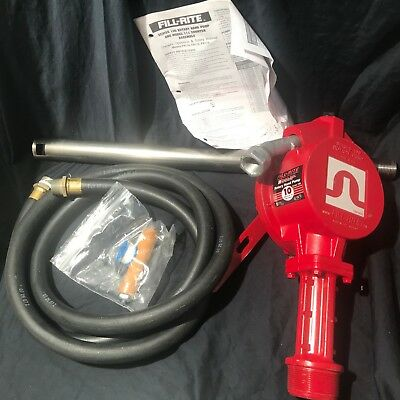 Tuthill/Fill-Rite FR112 Rotary Style Manuel Fuel Transfer Hand Pump 10 GPM USA