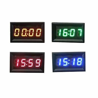 4 COLOR AUTO MOTO ACCESSORI 12V/24V CRUSCOTTO DISPLAY LED orologio digitale