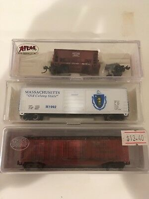 Various N Scale Freight Cars