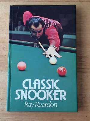 Classic Snooker Book, by Ray Reardon Pool Pub good condition