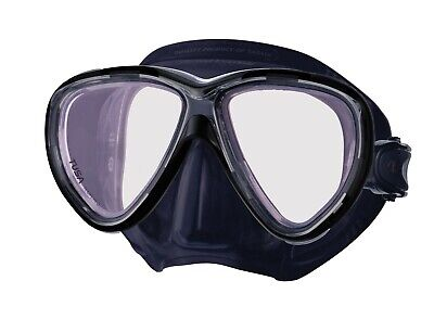 Tusa Freedom One Pro Dive Mask with Crystalview Glass Superior Clarity & Vision