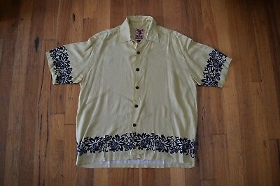 Vintage Mambo Loud Short Sleeve Shirt Excellent Condition Size L