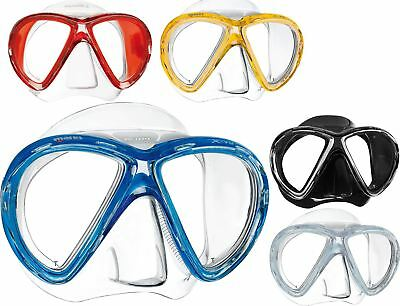 NEW Mares X-Vu Silicone Dive Mask - Innovative Design Top Comfort & Seal